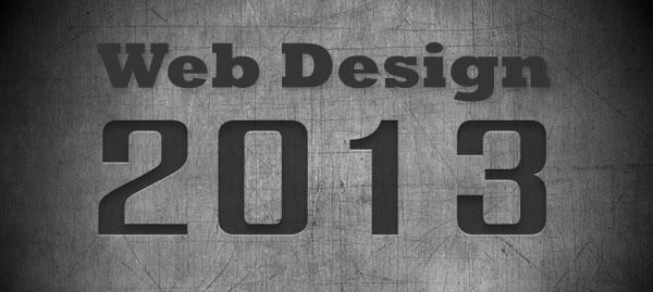 Xu hướng thiết kế web mới 2013