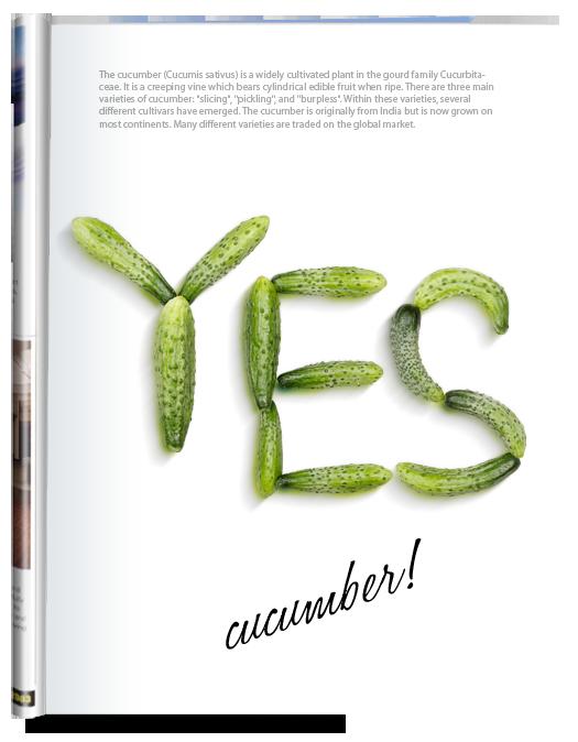 cucumber-font-poster