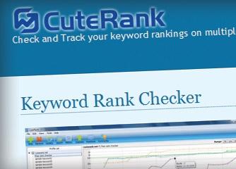 CuteRank Checker - Kiếm tra thứ hạng nhiều từ khóa của nhiều site cùng lúc