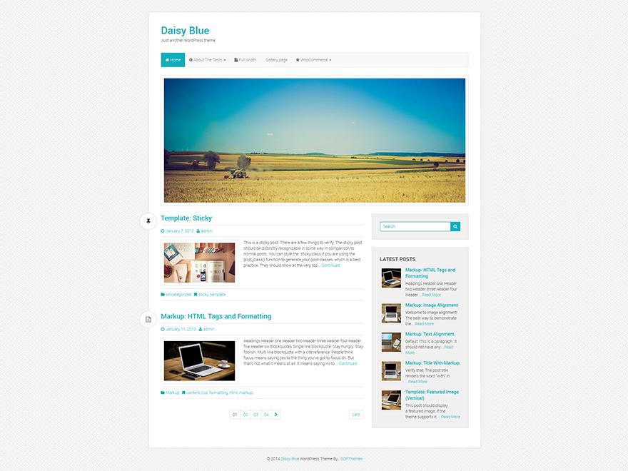 daisy-blue-wordpress-free-bootstrap-theme