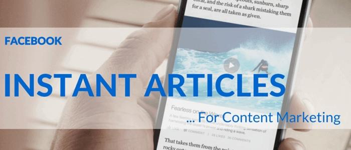 Facebook Instant Articles là gì ? Hướng dẫn cài đặt Facebook Instant Articles