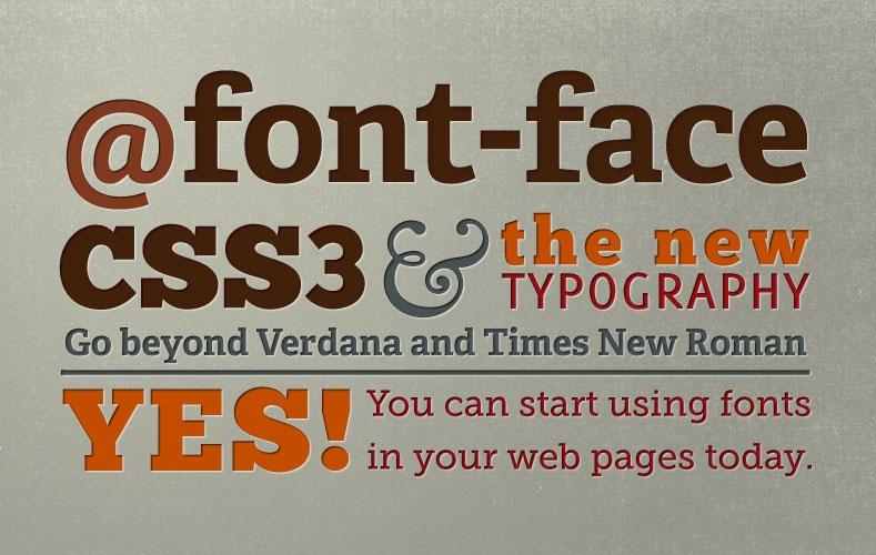 Cách nhúng font vào web với @font-face