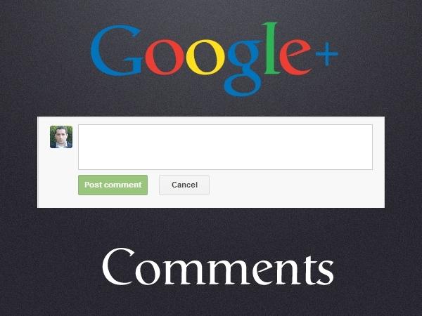 Cách thêm Google+ Comment cho Website
