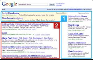 google marketing 300x194 Quảng bá web theo kết quả tìm kiếm hay Adwords?