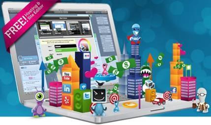 Các dịch vụ thiết kế web miễn phí tốt nhất hiện nay