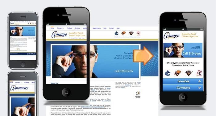 Nội dung website cần hiển thị chuẩn trên màn hình di động
