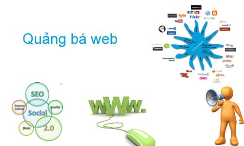 quảng cáo web