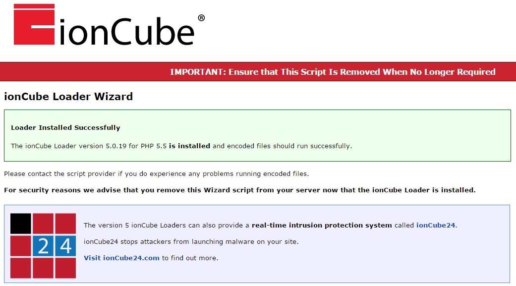 How to Setup IonCube Loaders on Ubuntu 14.04 / 15.04