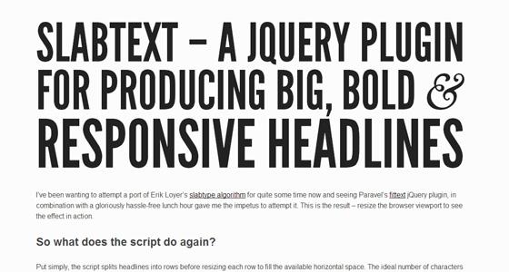 Tổng hợp những jQuery Text Effect nên có