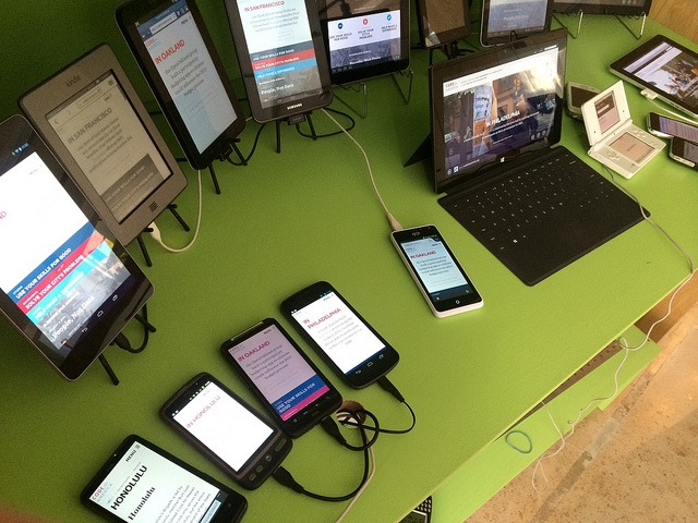 Thiết kế web mobile: Responsive hay Adaptive
