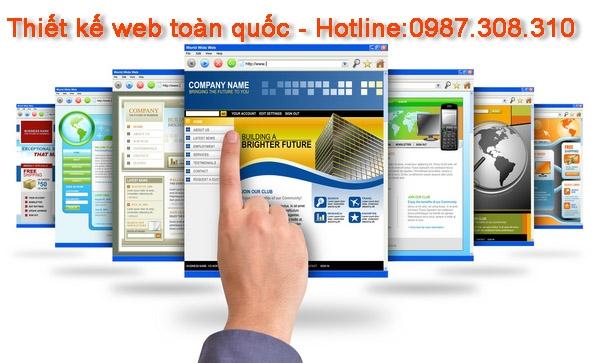 Thiết kế website toàn quốc