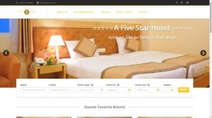 Thiết kế web đặt phòng cho khách sạn Eleganthotel