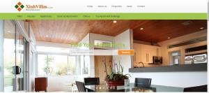 Thiết kế website bất động sản cho công ty CP XinhVillas