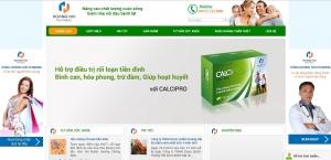 Thiết kế web cho công ty TNHH dược phẩm Hoàng Hải