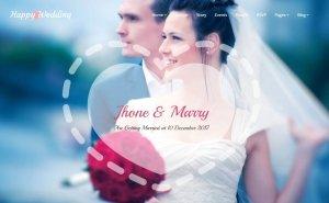 Mẫu thiết kế web cho Studio, Photography, Wedding