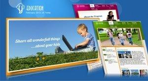 Mẫu thiết kế web Đào tạo - Giáo dục